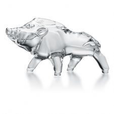 Baccarat Zodiaque Boar - Available in a variety of colours